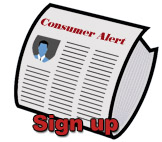 Sign up for the Consumer Alert